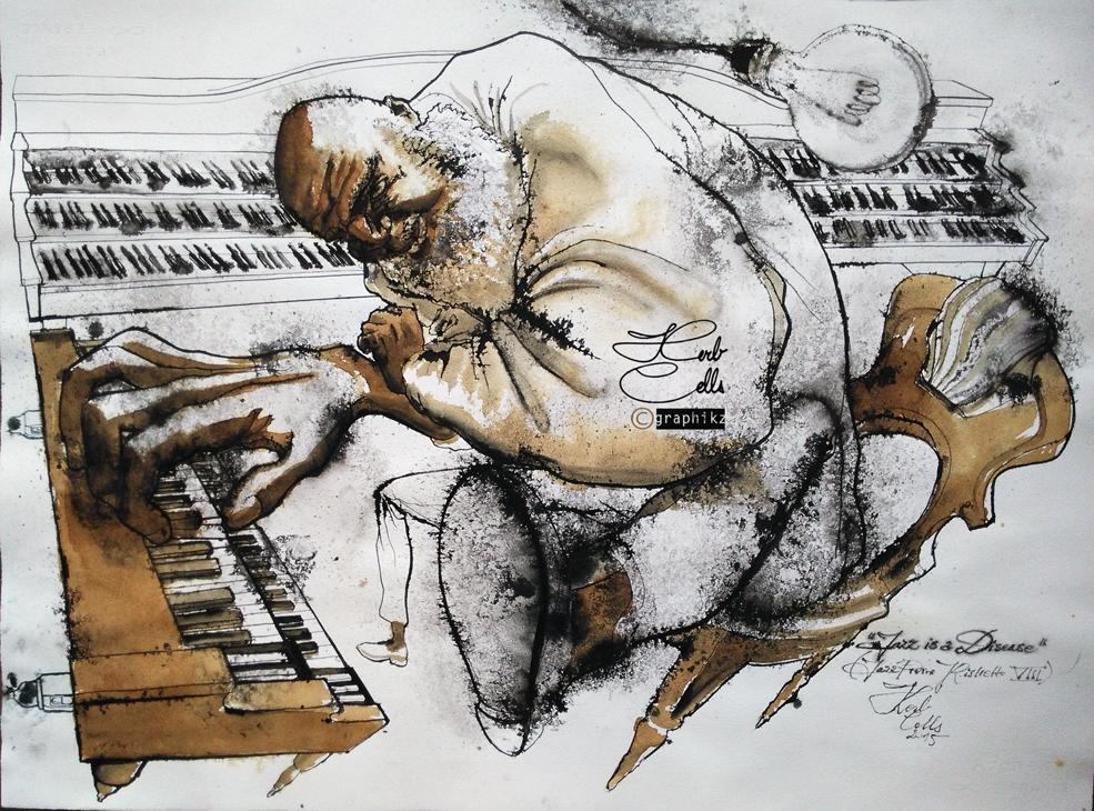 Jazz is a Disease b (jr VIII) by Herb Cells
